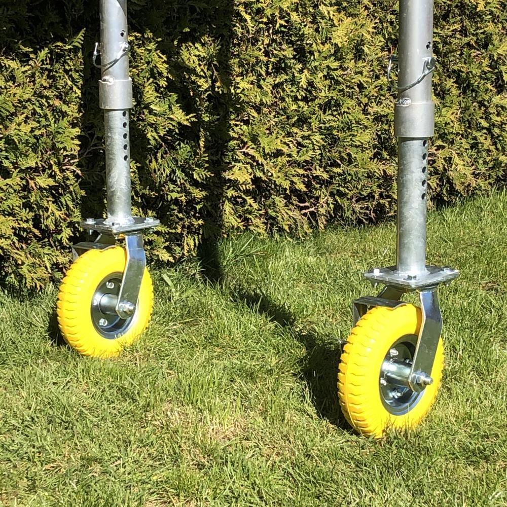 Tuinsteiger wielen verstelbaar
