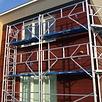 ASC Alu-Fassadengerüst 0,90 m x 7,50 m x 8,00 m