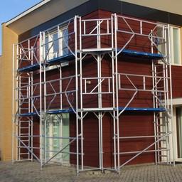 ASC Gevelstelling 100 m² - 0,90 m x 10,00 m x 10,00 m