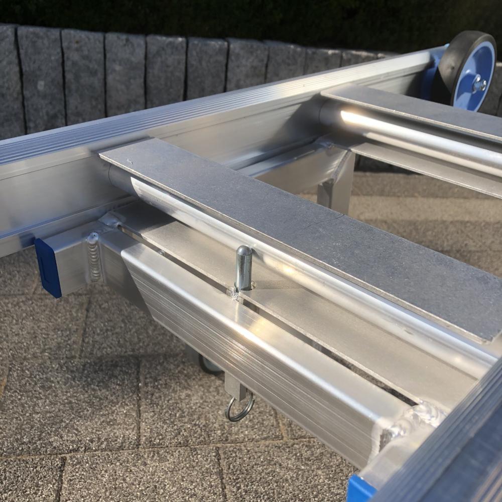 ASC Leiter Wandabstandshalter Aluminium