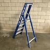 Das Ladders Das Hercules blue Aluminium-Stehleiter 4 Stufen ET4B