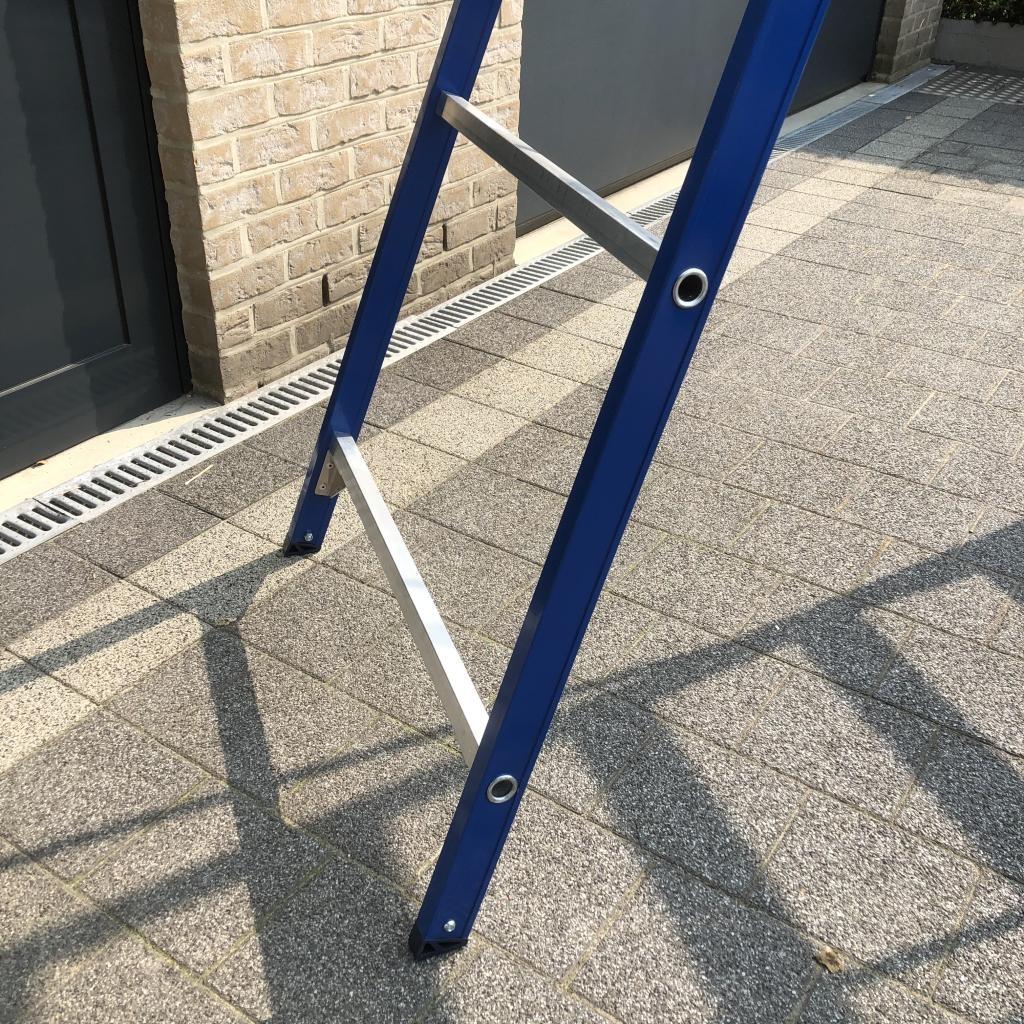 Das Ladders Das Hercules blue Aluminium-Stehleiter 12 Stufen ET12B