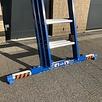 ASC ASC XD Anlegeleiter 3x14 Sprossen mit Traverse