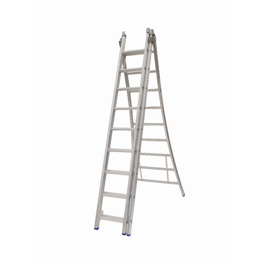 Solide Solide omvormbare ladder 3x9 sporten