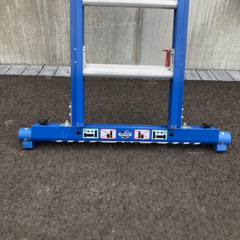 ASC ASC XD Anlegeleiter 2x12 Sprossen mit Traverse