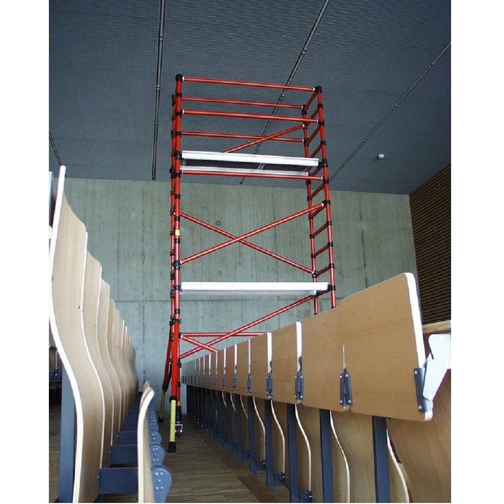 Rolsteiger kunststof carbon 70 x 250 x 8 m werkhoogte