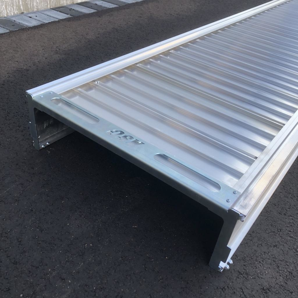 ASC Aluminium loopbrug 8 m