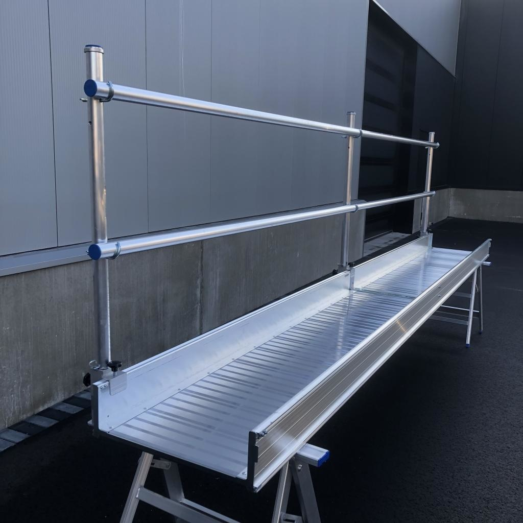 ASC Aluminium loopbrug 4 m