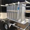 Rollgerüst 1,35 x 2,50 x 10 m mit Anhänger
