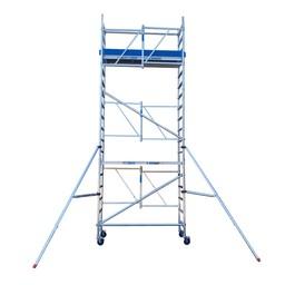 Échafaudage pliant A-line hauteur de travail 6,50 m