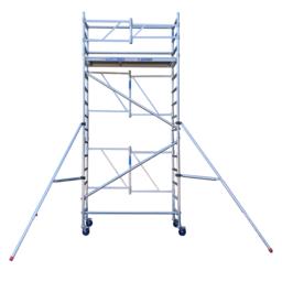 Échafaudage pliant A-line hauteur de travail 5,50 m