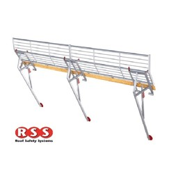 Roof Safety Systems RSS Fallschutz 21 Meter
