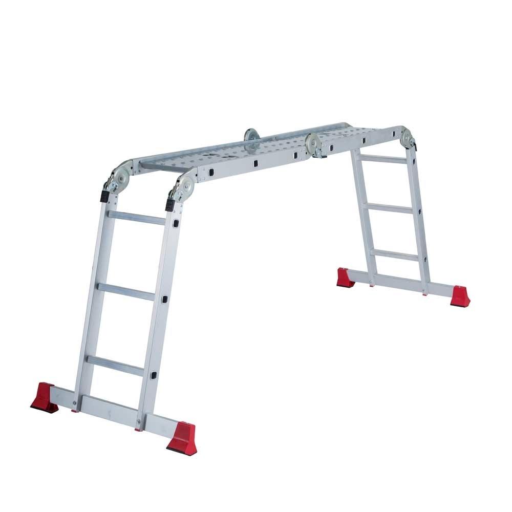 Little Jumbo Vouwladder met platform 3x4 sporten
