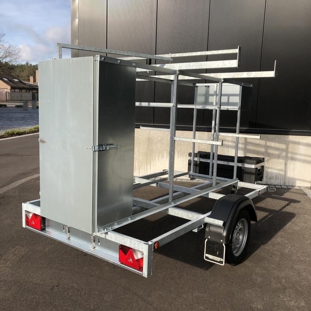 EuroScaffold Steigeraanhanger afsluitbaar 250