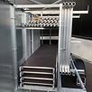 Rolsteiger 1,35 x 2,50 x 8 m + afsluitbare steigeraanhanger