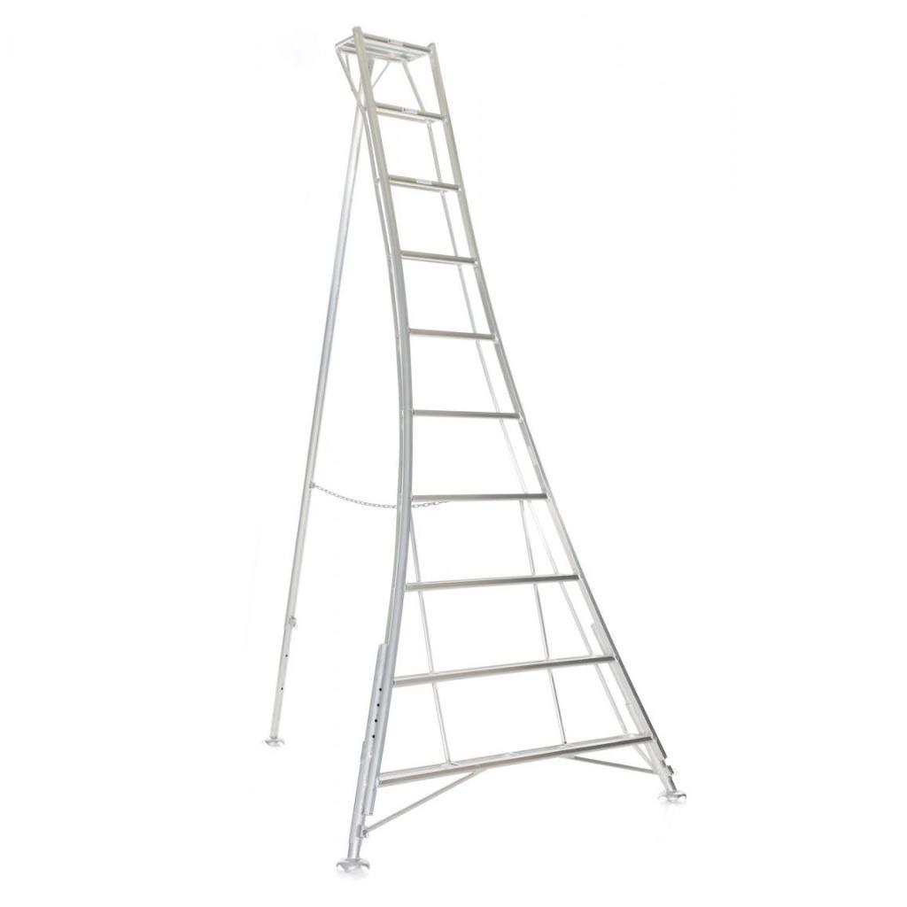 Vultur tripod ladder 360 cm met 3 verstelbare poten