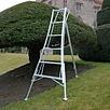 Vultur tripod ladder 180 cm met 3 verstelbare poten