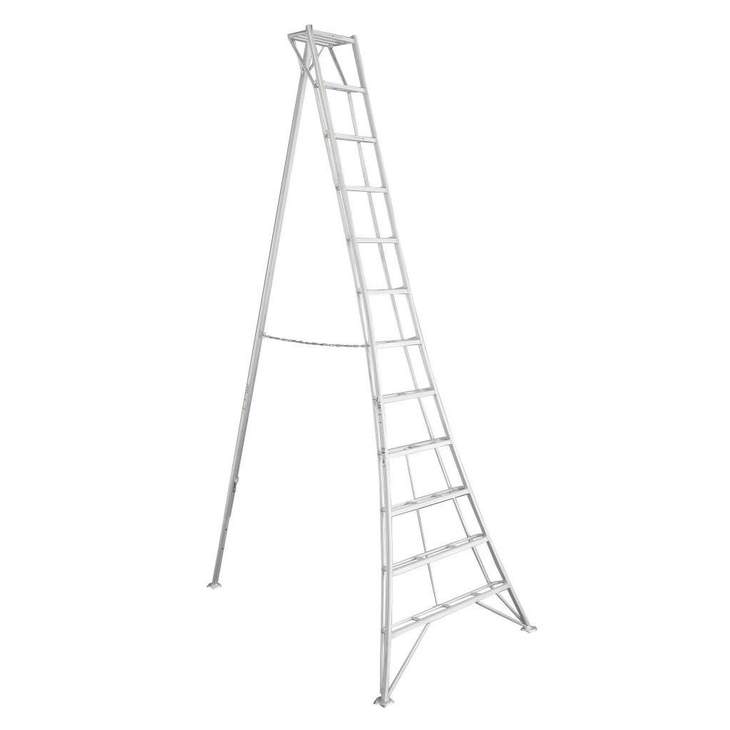 Vultur tripod ladder 360 cm met 1 poot verstelbaar