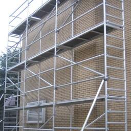 ASC Alu-Fassadengerüst 75 cm - 6,10 m x 8 m