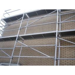 ASC Échafaudage de facade 75 cm - 10 m x 6 m
