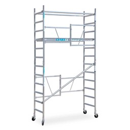 EuroScaffold Zimmerfahrgerüst Euroscaffold Arbeitshöhe 4,70 m