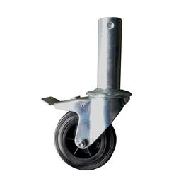Alumexx Roues échafaudage pliant 100 mm (4 pièces)