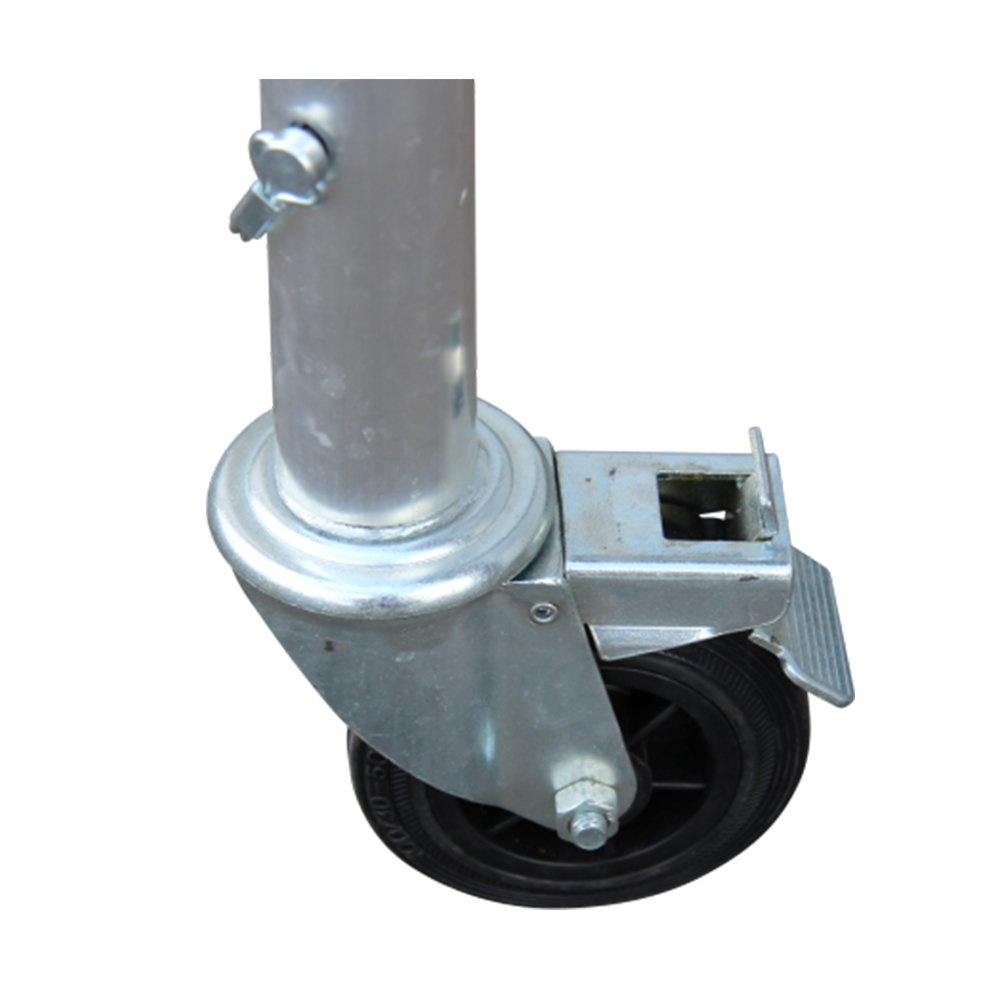 Alumexx Kamersteiger wielen 100 mm (4 stuks)