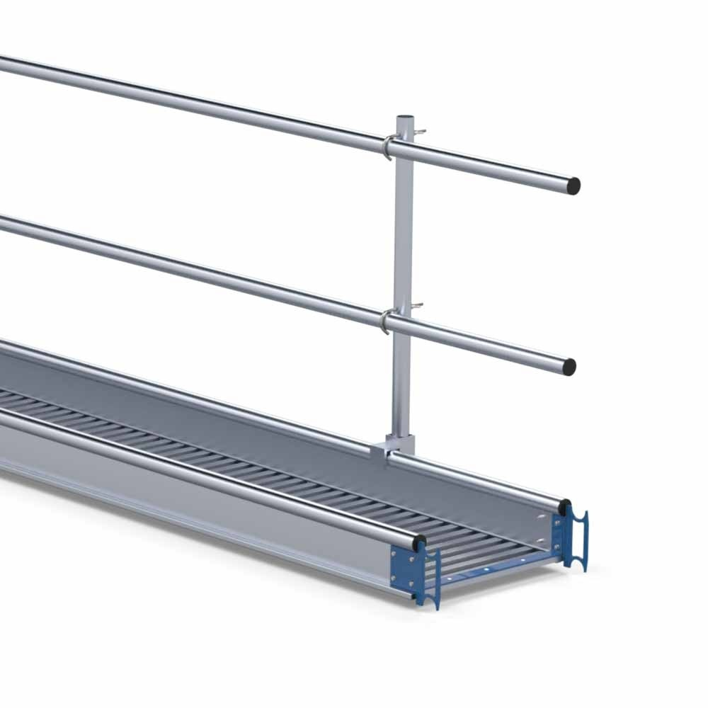 Aluminium werkbrug loopbrug 6 m