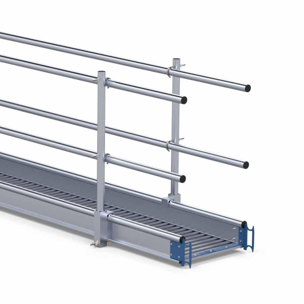 Aluminium werkbrug loopbrug 8 m