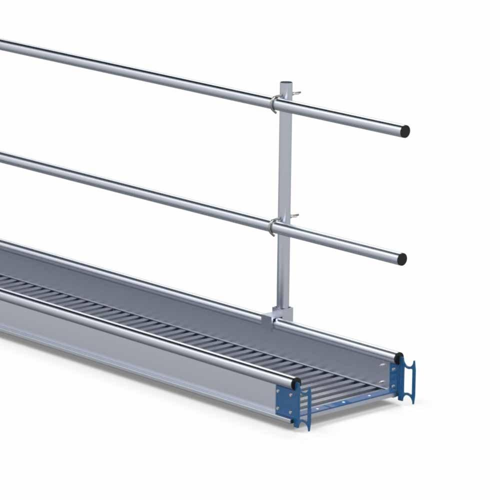 Aluminium werkbrug loopbrug 7 m