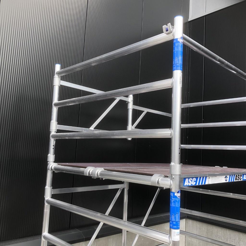 ASC Kamersteiger 135x190 werkhoogte 3,85 m