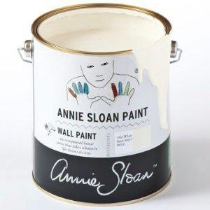 Annie Sloan Wallpaint, Old White: 2,5l - 100ml