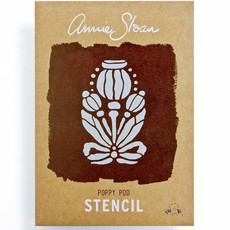 Annie Sloan Sjabloon A4: Poppy Pod