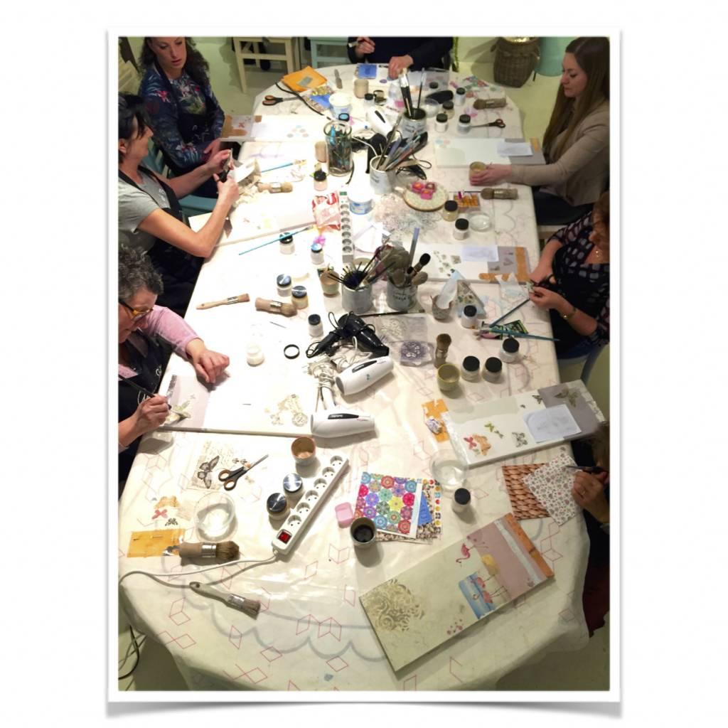 Annie Sloan Workshop Verftechnieken 1 Annie Sloan