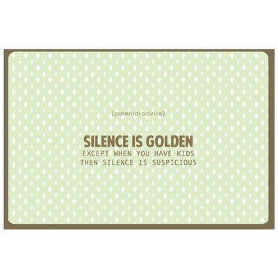 Enfant Terrible Kaart Nordic 991 silence is golden