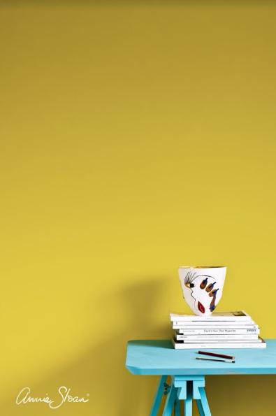 Annie Sloan Wallpaint, English Yellow: 2,5l - 100 ml 100ML