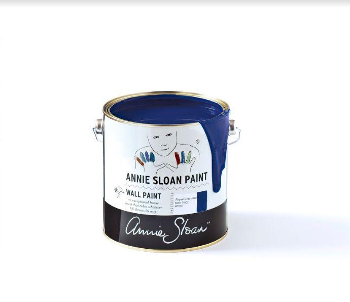 Annie Sloan Wallpaint, Napoleonic Blue: 2,5l - 100 ml 2,5 Liter