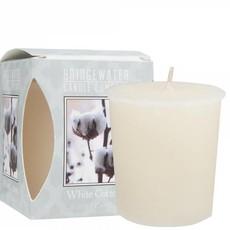 HOME SOCIETY Geurkaarsje White Cotton