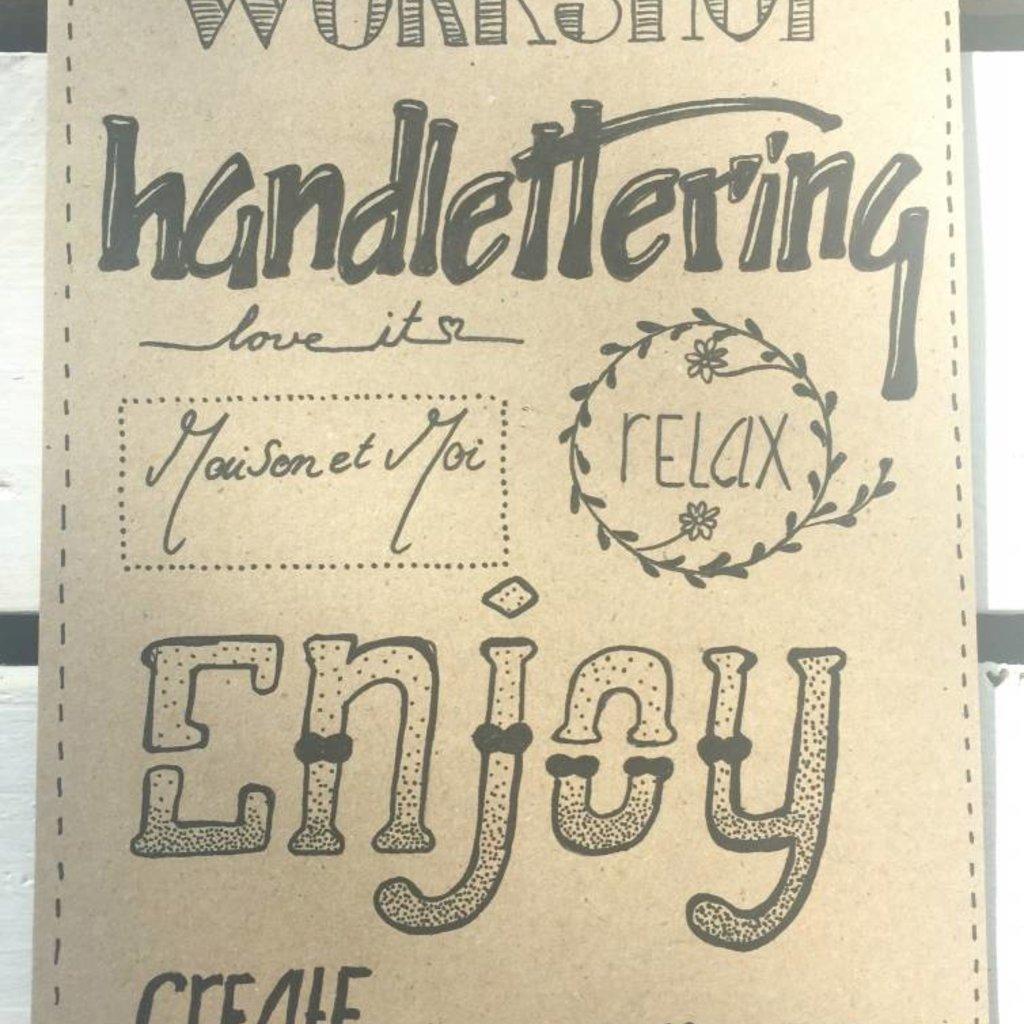 Workshop Handlettering