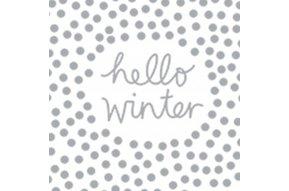 servetten Hello Winter
