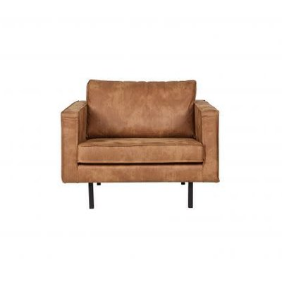 BePureHome Rodeo Love-seat eco leather cognac