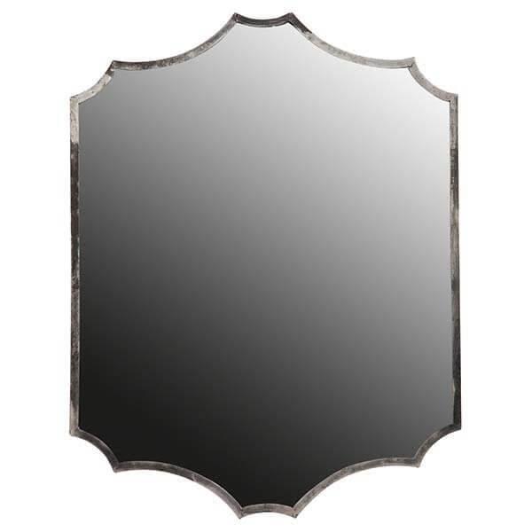BePureHome Gorgeous too spiegel metaal antique zilver