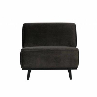 BePureHome Statement fauteuil velvet warm groen