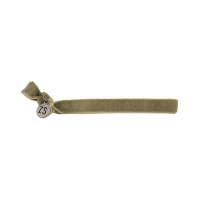 Zusss Armbandje Fluweel Groen