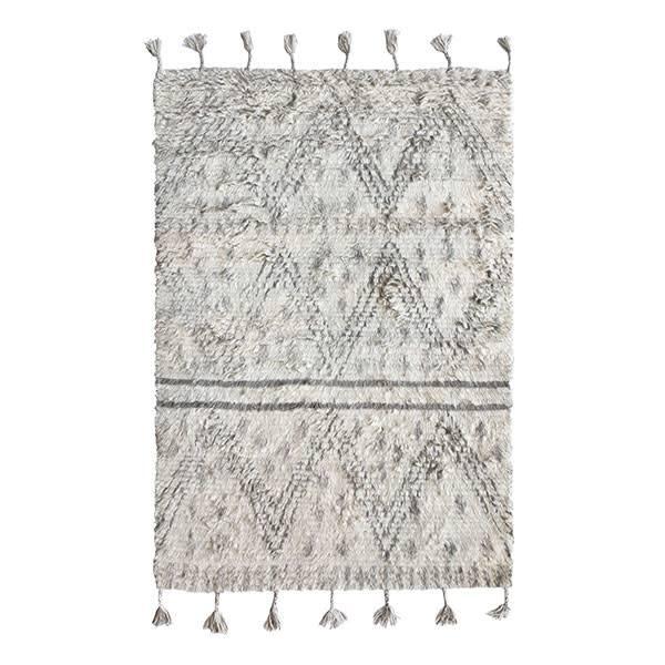 HKliving handgeknoopt wollen berberkleed (120x180)