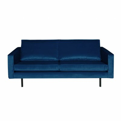 BePureHome Rodeo Bank 2,5-zits Velvet Dark Blue Nightshade