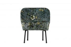 Vogue fauteuil fluweel - Poppy grijs