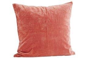 Velvet cushion  Dusty rose VC365
