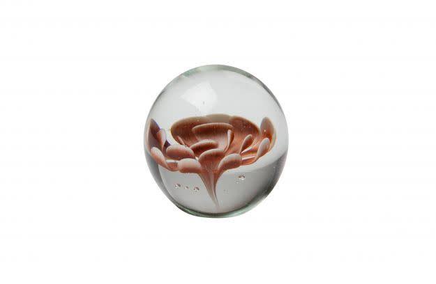 BePureHome Botanics bloem in glas bruin 9,3xø9,3cm