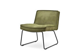Lounge chair Montana green